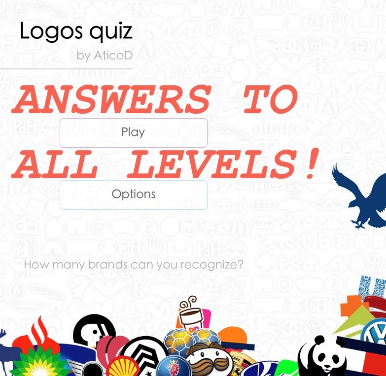 Logos Quiz Answers – All Levels